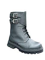 """Ботинки с высокими берцами тип """"Омон"""" кожаные"""