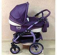 Универсальная коляска 2в1 Anmar Ramzes Len фиолет\беж