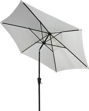 Зонт пляжный с наклоном ТЕ-004-270 Бежевый диаметр купола 2,7 метра (Time Eco TM), фото 2