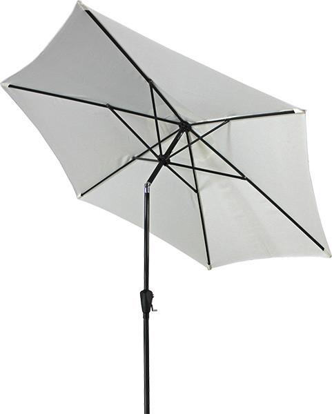 Зонт пляжный с наклоном ТЕ-004-270 Бежевый диаметр купола 2,7 метра (Time Eco TM)