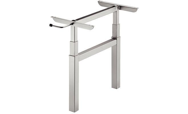 Подвижная опора подъемного стола на 2 ножки, нагрузка 20 кг