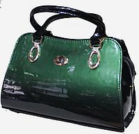 Сумка женская классическая каркасная LUCK SHERRYS  Лаковая экко-кожа 17-2115-8