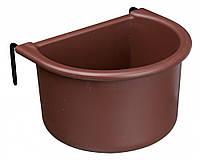 Кормушка Trixie Hanging Bowl для птиц пластиковая, 400 мл, фото 1