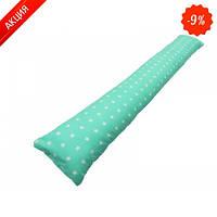 Подушка для беременных прямая  Звездочки (с наволочкой) (Kidigo)