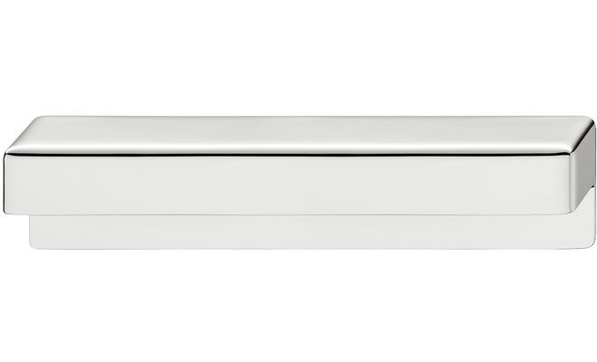 Ручка мебельная цамак хромированная полированная 170х40 мм
