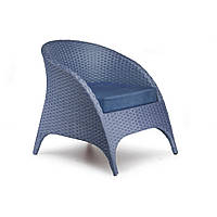 Кресло плетенрое из искусственного ротанга Гольф 70x97x80 см