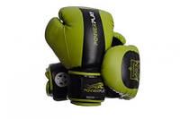 Боксерские перчатки PowerPlay Tiger Series Green