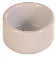 Кормушка Trixie Ceramic Bowl для птиц керамическая, 25 мл
