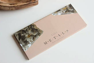 Палетка теней для век Zoeva - Mixed Metals