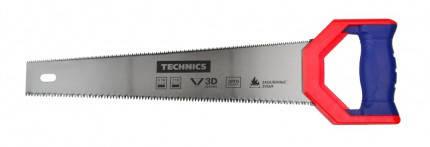 Ножівка по дереву двостороння, 350 мм Technics, фото 2