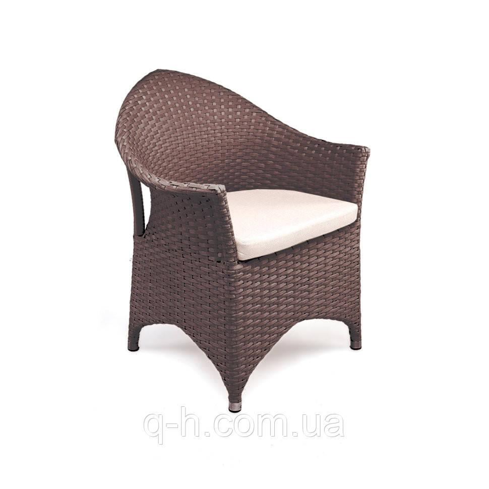 Кресло из искусственного ротанга Марокко плетеное 70x65x88 см (marokko-01)