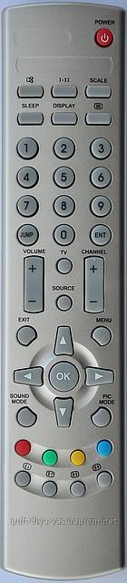 Пульт к телевизору BBK  Модель P4084-1 ( LT1504 )