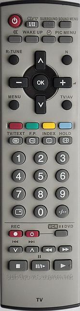 Пульт на телевизор  Panasonic. Модель N2QAJB8000080