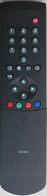 Пульт от телевизора AKAI. Модель RC-N1A