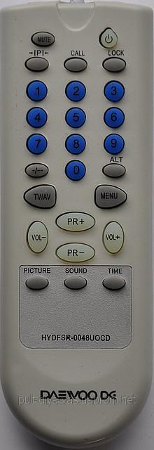 Пульт к телевизору DAEWOO. Модель HYDFSR-0048UOCD
