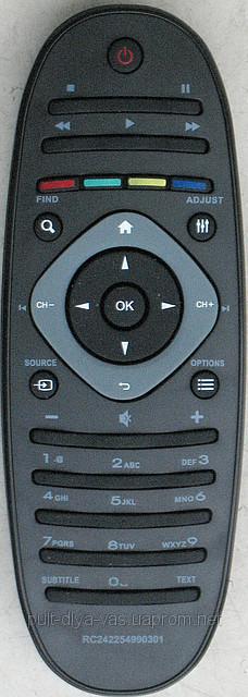 Пульт с телевизора PHILIPS. Модель RC242254990301