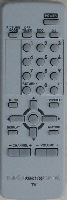 Пульт к телевизору JVC. Модель RM-C1150