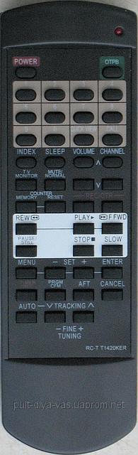 Пульт к телевизору AIWA. Модель RC-T1420KER