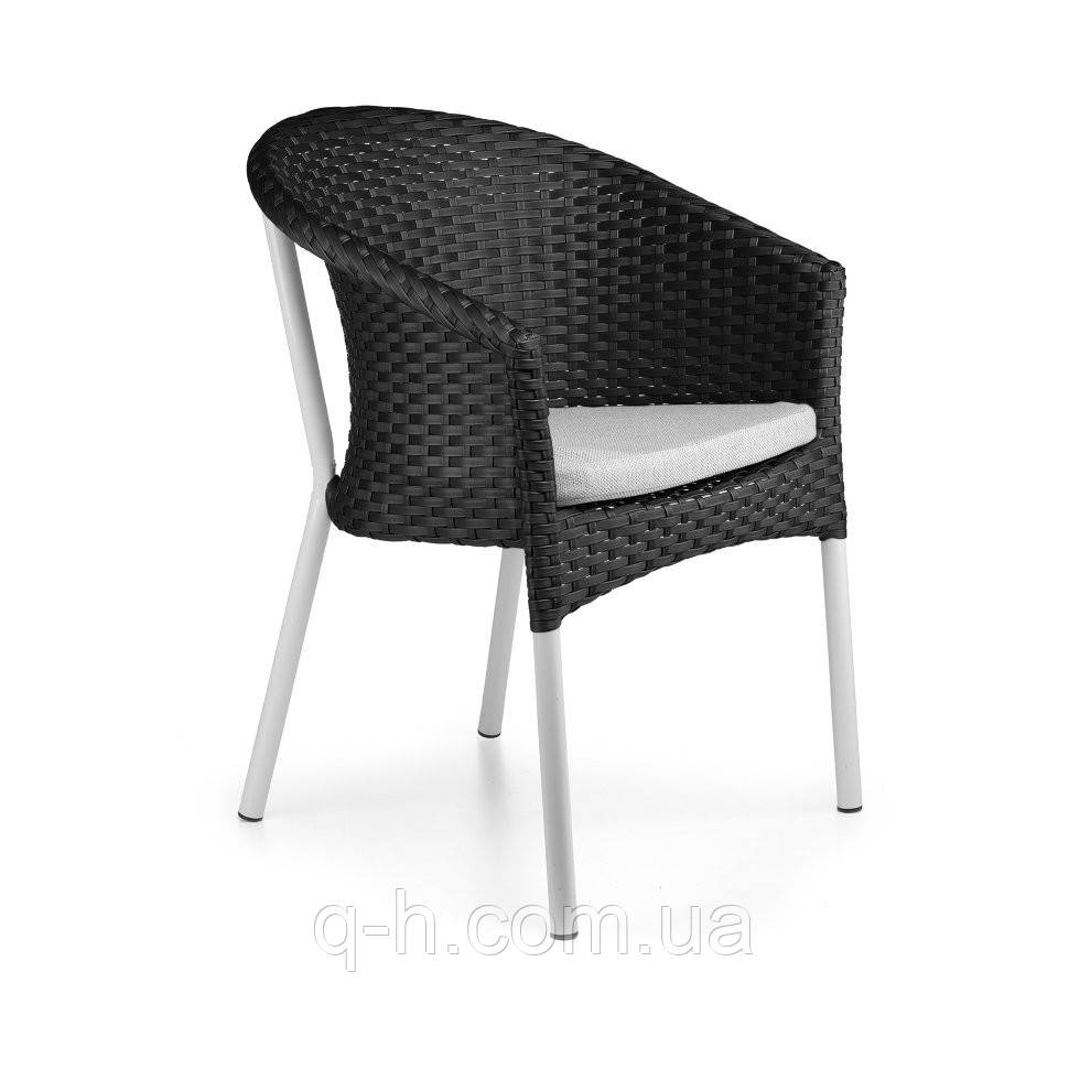 Кресло neapol плетеное из искусственного ротанга 68x47x79 см