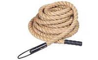 Канат для лазания (Crossfit Climbing Rope)  (сизаль, l-15м, d-3,8см)