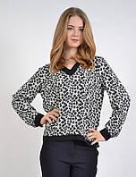 Блузка женская свободный крой под джинсы MEES 5591, фото 1