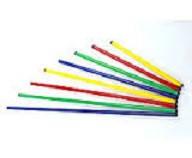 Палка гимнастическая пластик 1,2 (l-1,2м, цвета в ассортименте)