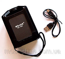 Портативная колонка WSJAR WS-608 Bluetooth Black, фото 3