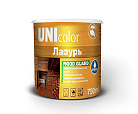 Лазурь Акриловая UNIcolor 0,75 л с антисептиком СОСНА