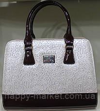 Сумка женская классическая каркасная Fashion  17-1426-3, фото 2
