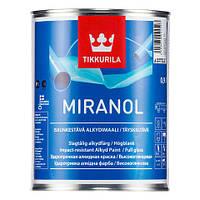 """Краска для внутренних и наружных работ """"Миранол"""". Ударопрочная алкидная краска глянцевая Миранол. MIRANOL 0,9л"""