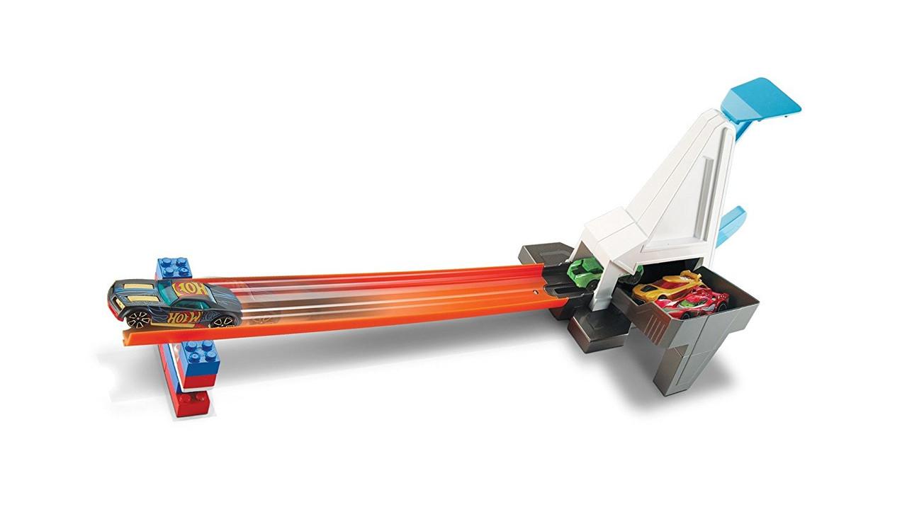 Хот Вилс Скоростная пусковая установка Ускоритель для треков Hot Wheels Track Builder Rapid Launcher
