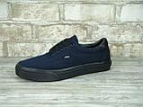 Кеды мужские Vans Era 30287 темно-синие, фото 2