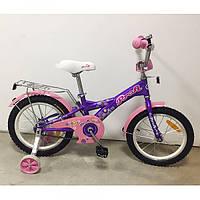 Детский двухколесный велосипед Original girl G1863 Profi, 18 дюймов