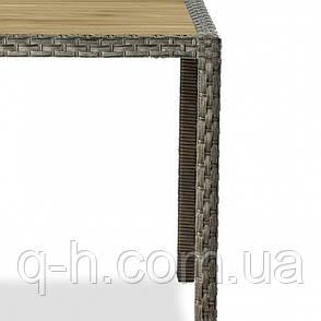 Стол обеденный плетеный из искусственного ротанга Siesta, фото 2