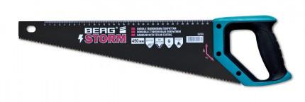 """Ножовка по дереву с тефлоновым покрытием """"STORM"""" 400мм  Berg"""