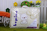 """Постельный набор в детскую кроватку """"Bepino"""" вышивка Мишка в тельняшке"""