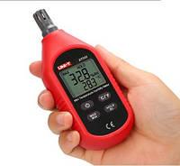 Вимірювач вологості і температури повітря. Гігрометр з моментальним вимірюванням. UNI-T UT333