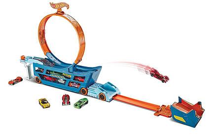 Хот Вилс Трек-трансформер Крутые Трюки и гонки Hot Wheels Stunt n' Go, фото 2