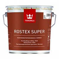"""Rostex super """"Ростекс супер"""" противокоррозионная грунтовка. Красно-коричневый цвет  3 л"""