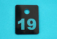 Номерок для ключей 40*50 мм
