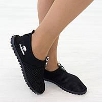 Кроссовки из текстиля черные (О-781), фото 1