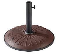 "Подставка для садового зонта TE-H1-15 коричневая ""часы"" (Time Eco TM)"