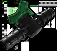 Миникран. 2 x Соединитель для трубки 20*16мм, (25шт)