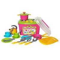 Детский кухонный набор посуды 8 2407 Технок