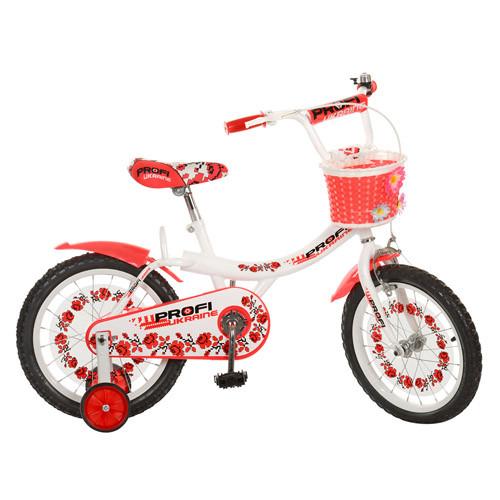 Детский двухколесный велосипед PROFI UKRAINE 16 дюймов 16BX406UK