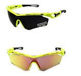 Велосипедные очки Que-shark с поляризационным покрытием, фото 2