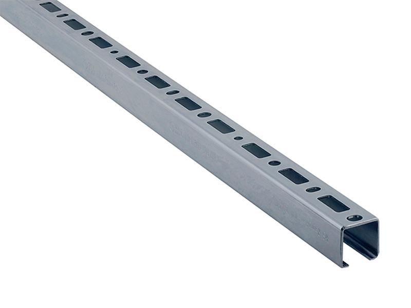 Профиль монтажный перфорированный нержавеющий Walraven 30х30х2 мм по 2 м WM2
