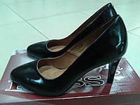 НОВИНКА! Классические туфли из нат. лаковой кожи  ROSS 8051
