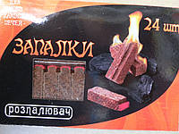 Спички для розжига мангала  24 щт