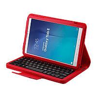 Чехол клавиатура Bluetooth для планшета Samsung Galaxy Tab E 9.6 T560 красный